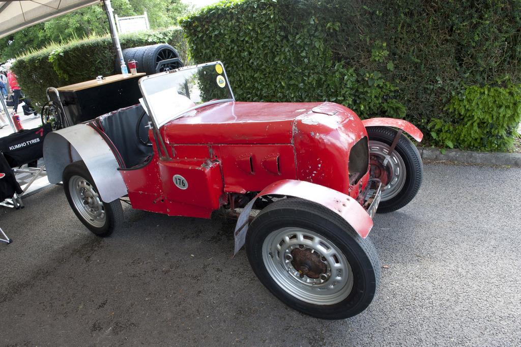 路特斯打造的第一台场地赛车